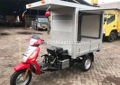 Karoseri Box Aluminium Sepeda Motor